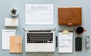 business objects on table