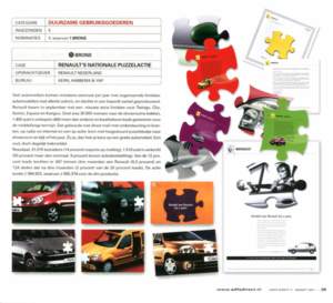 Renaults Product Sheet