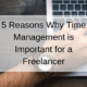 Who put the free in freelance?