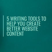 What does a copywriter add to your website?