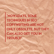 14 Mistakes to avoid in SEO copywriting