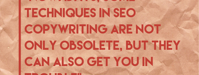 14 Mistakes to avoid in SEO copywriting