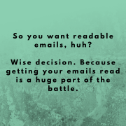 3 Ways to inject readability into your email copy